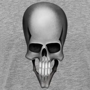 Skull gray - Men's Premium T-Shirt