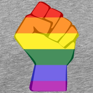 LGBT fist - Men's Premium T-Shirt