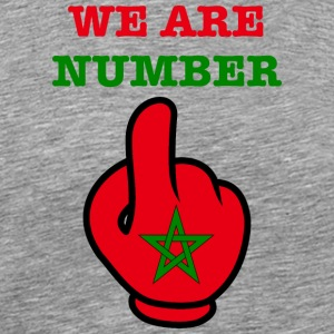 MAROC Maroc MAROC المغرب WE ARE NR 1 - T-shirt Premium Homme