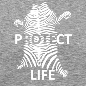 protectlife wite - Mannen Premium T-shirt
