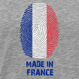 France flag flag - gift Made in France - Men's Premium T-Shirt
