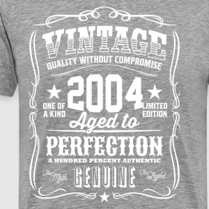 Vintage 2004 Aged to Perfection - Men's Premium T-Shirt