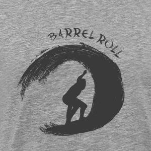 Barrel Roll Surfer - Männer Premium T-Shirt