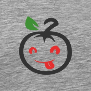 APPLE VEGGIE T-SHIRT - Herre premium T-shirt