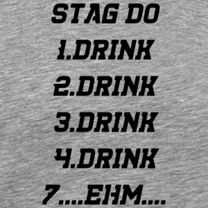 drinking drunk - Men's Premium T-Shirt