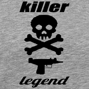 killer legend - Herre premium T-shirt