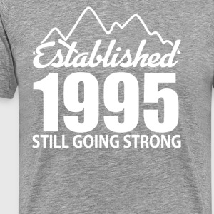 Established 1995 and still going strong - Men's Premium T-Shirt