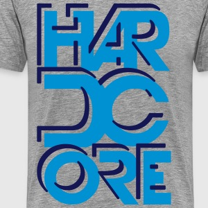 Hard Core - Mannen Premium T-shirt