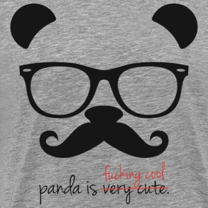 Panda is f ** king cool - Men's Premium T-Shirt