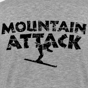 MOUNTAIN ATTACK Winter Sports Ski Design (Black)
