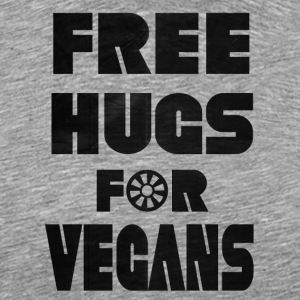 vegan t shirt Free hugs is you are vegan