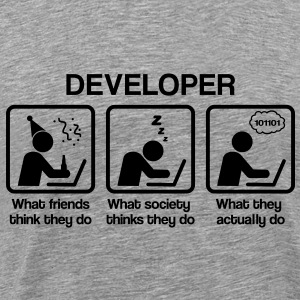 Developer - What my friends think I do