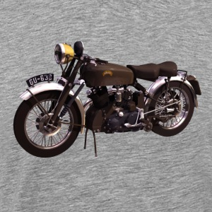 Black Shadow vintage motor bike