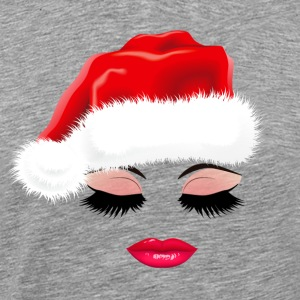 Christmas Sexy Eyelashes and lips. Gifts for girls