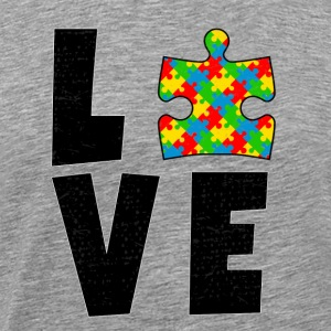Autism love autist awareness puzzle gift