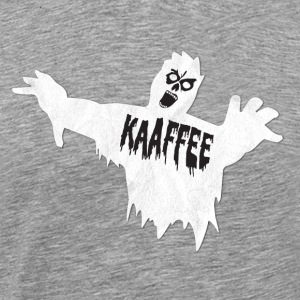 Funny coffee zombie for morning muffle