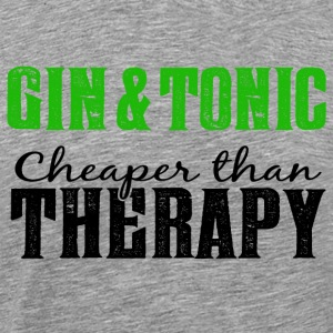 Gin & Tonic - cheaper than a therapy