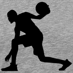 Basketball silhouette