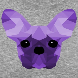 French Bulldog Low Poly Design lilac