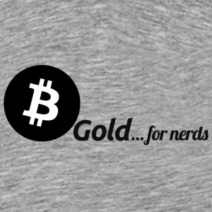 Bitcoin, gold for nerds. Black version.