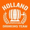 HOLLAND DRINKING TEAM - Mannen Premium T-shirt