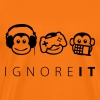 ignore it - Männer Premium T-Shirt