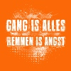 Gang is alles - Mannen Premium T-shirt