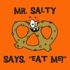 Pretzel Pretzels Mr Salty - Men's Premium T-Shirt