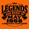 Legends are born in may 1968 - Men's Premium T-Shirt