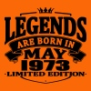Legends are born in may 1973 - Men's Premium T-Shirt