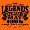 Legends are born in may 1995 - Men's Premium T-Shirt