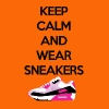 Keep calm and wear Sneakers - Männer Premium T-Shirt