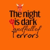 The night is dark and full of terrors - Men's Premium T-Shirt