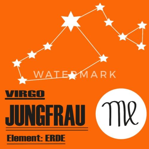 Sternzeichen Jungfrau Männer Premium T Shirt Spreadshirt
