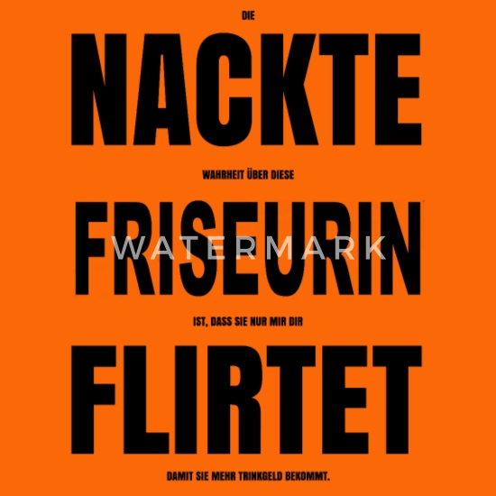 nackte friseurin