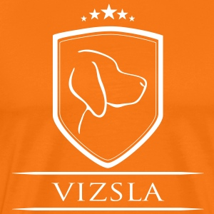 VIZSLA COAT OF ARMS - Men's Premium T-Shirt