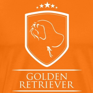 Golden retriever ARMS - Premium-T-shirt herr