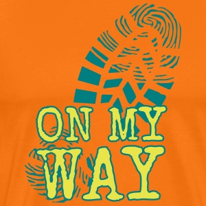 MY WAY - Männer Premium T-Shirt