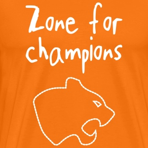 champion zone - Mannen Premium T-shirt