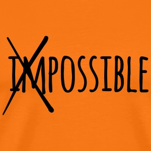 Impossible Possible 1c - Männer Premium T-Shirt
