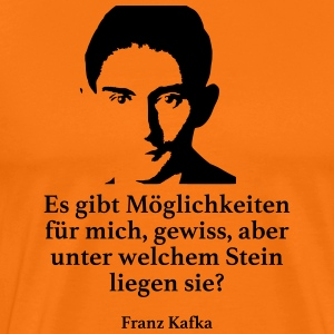Kafka: There are possibilities for me, certainly - Men's Premium T-Shirt