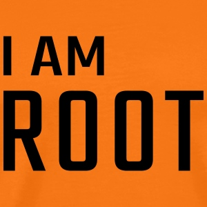 I am ROOT - Men's Premium T-Shirt