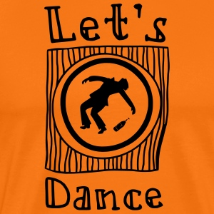 Let's Dance - Men's Premium T-Shirt