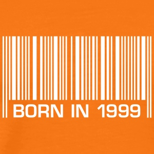 born barcode in 1999 18th birthday 18th birthday - Men's Premium T-Shirt