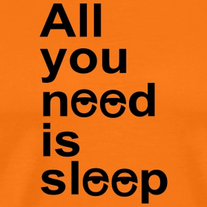 sleep - Men's Premium T-Shirt