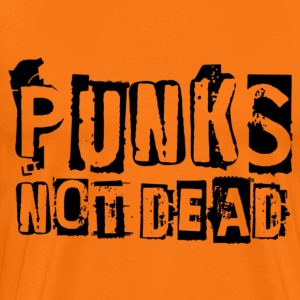 Punks not dead - Men's Premium T-Shirt