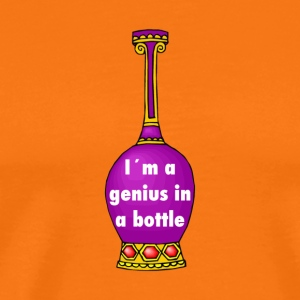 i m a genius in a bottle - Männer Premium T-Shirt