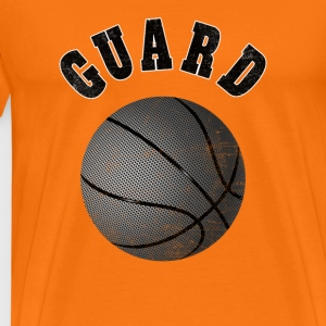 Basketball T-Shirt Guard - Men's Premium T-Shirt