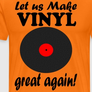 Vinyl er Great! - Herre premium T-shirt
