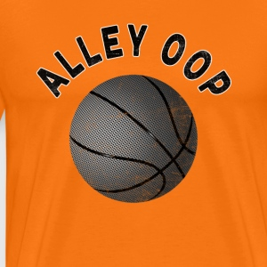 Basketball T-Shirt ALLEY OOP - Men's Premium T-Shirt